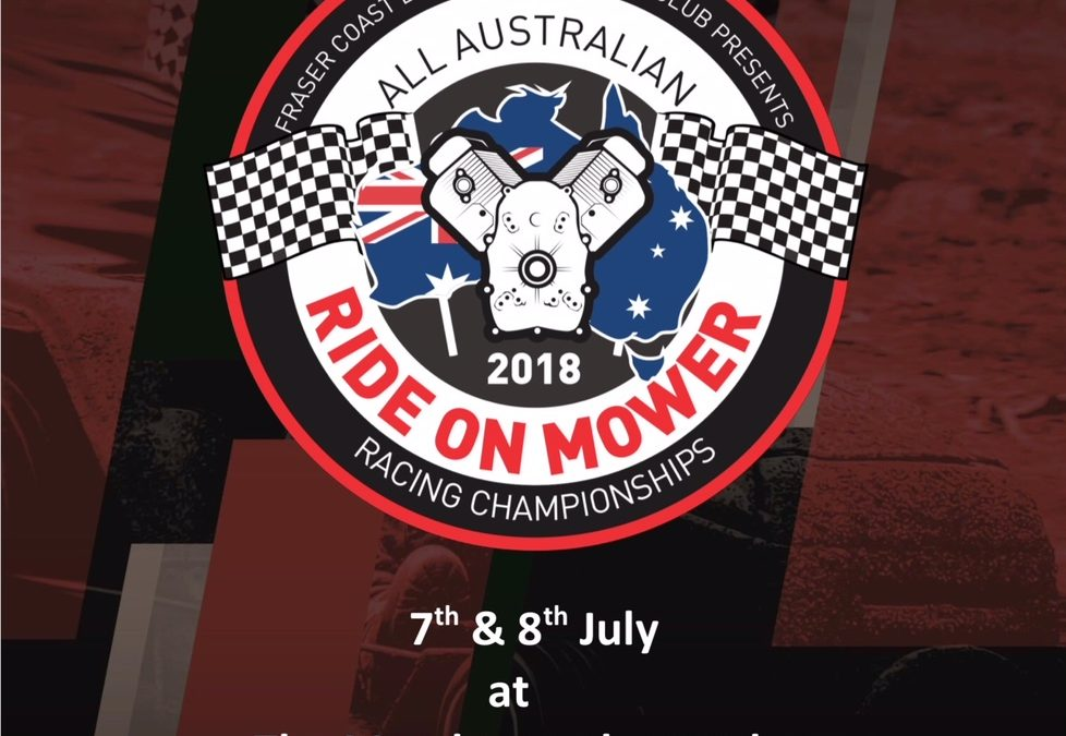 2018 All Australian Ride On Mower racing Championships